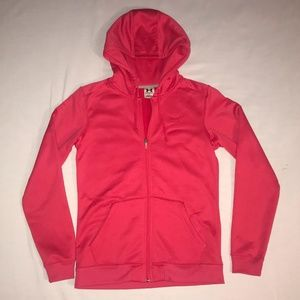 Under Armour - Pink Hoodie - Size SM